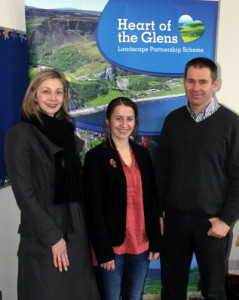 New staff members Cathy McClintock, Ciara OhArtghaile and Réamai Mathers