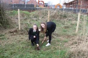 Two Girls Planting Resized