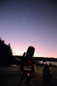 Stargazing event credit EAAS