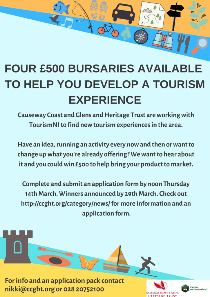 Tourism Product Challenge Fund | Causeway Coast & Glens Heritage