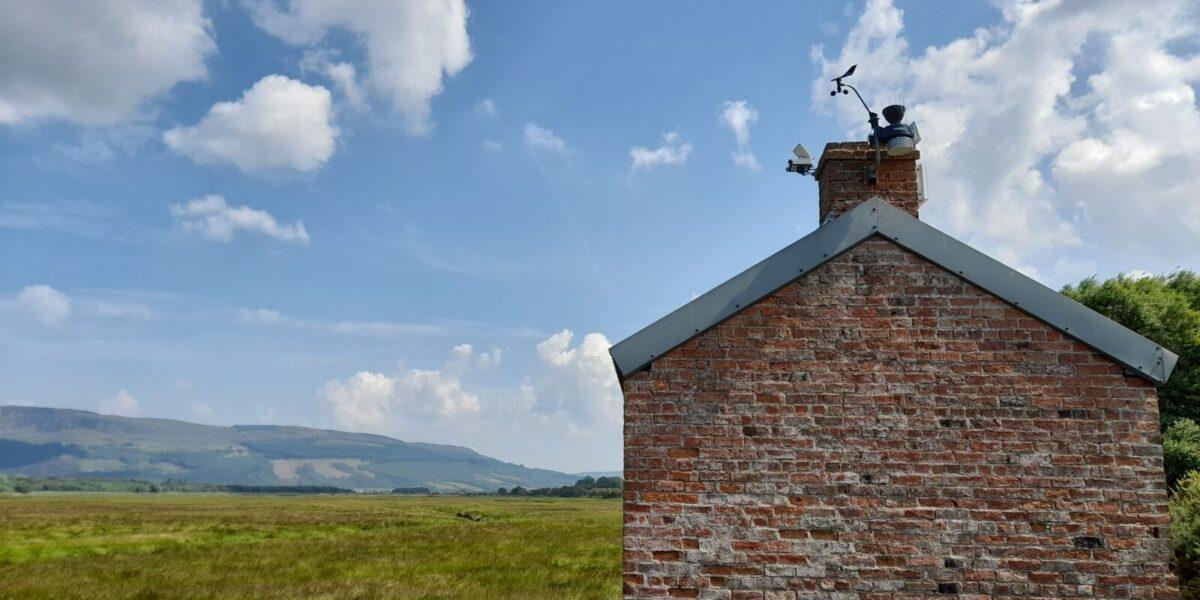 Roe Estuary camera and davis weather station